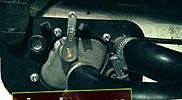 Grifo para estufa VAZ 2114