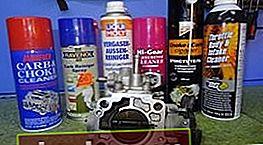 Detergente per carburatori