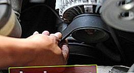 Come tensionare la cinghia dell'alternatore