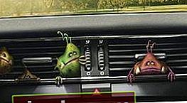 Pulizia del condizionatore d'aria dell'auto