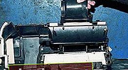 Reemplazo del radiador de la estufa VAZ 2109