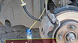 Cómo purgar los frenos en un VAZ 2110