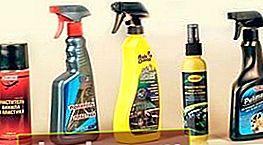 Detergente per plastica per interni auto