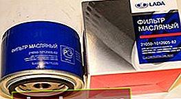 Filtro de aceite VAZ 2110