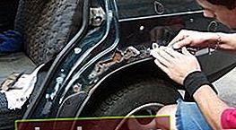 Lucha contra la corrosión del automóvil con tus propias manos.