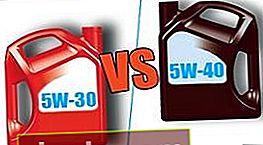 5W30 e 5W40: qual è la differenza tra gli oli motore