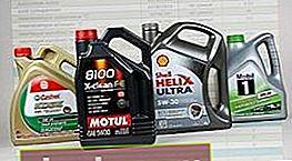 Características de los aceites de motor
