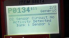 P0134: nessuna attività del segnale del sensore di ossigeno. Cause ed eliminazione dell'errore