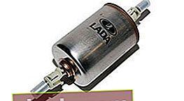 Filtro de combustible para VAZ 2110, 2111 y 2112