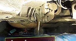 Cambio de aceite en la caja de cambios VAZ 2110