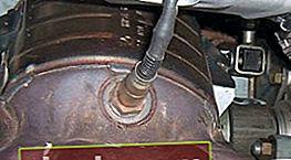 Control del sensor de oxígeno en Priora, Kalina