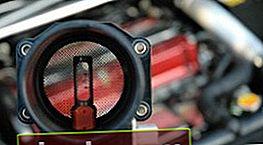 Mal funcionamiento del sensor de flujo de aire