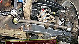 Reparación del brazo de suspensión delantero en el VAZ 2101-2107