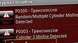 P0300 - errore di mancata accensione. Cause, effetti, eliminazione