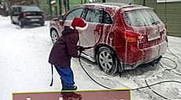 Come lavare la tua auto in inverno