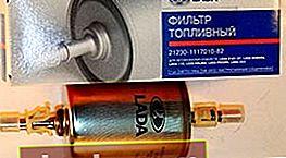 Filtro de combustible para Lada Kalina