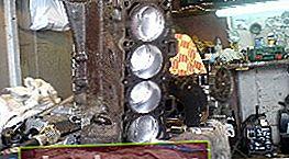 Reparación del motor VAZ 2109
