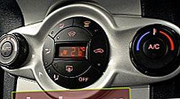 Malfunzionamento del condizionatore d'aria dell'auto