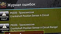 P0336 - errore sensore albero motore