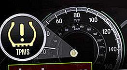 El sensor de presión de los neumáticos está encendido