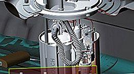 Circuito pompa carburante: meccanico, elettrico
