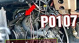 P0107 - Nivel bajo de señal MAPP