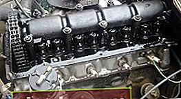 Instalación del motor VAZ 2101