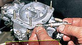 Ajuste del carburador VAZ 2105