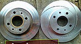 Discos de freno para VAZ 2109