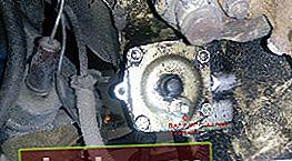 Cambio de aceite en el mecanismo de dirección VAZ 2106
