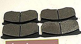 Pastiglie per UAZ Patriot 3163