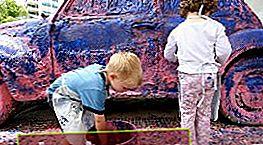 Preparar un automóvil para pintar con pintura de caucho