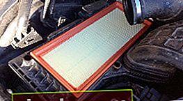 Sostituzione del filtro dell'aria Audi A4 B8
