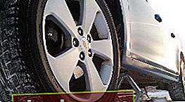 Pastiglie dei freni sulla Chevrolet Cruze