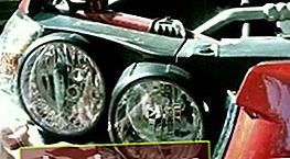 Regolazione dei fari Chevrolet Aveo T300