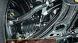 Sostituzione delle punte dello sterzo per Aveo T300