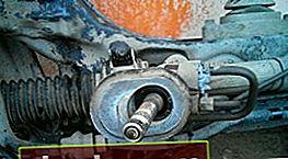 Sostituzione della cremagliera dello sterzo Chevrolet Aveo T300