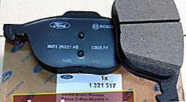 Quali pastiglie dei freni mettere su Ford Focus 3