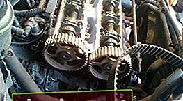 Sostituzione della cinghia di distribuzione su un motore Zeteс da 1,8 litri. Ford Focus