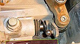Sostituzione del paraolio del selettore del cambio su Ford Focus 2
