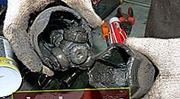 Ispezione dell'albero motore e sostituzione del grasso per giunti omocinetici Ford Focus