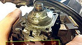 Ispezione e lubrificazione delle boccole del motore della stufa Ford Focus 1