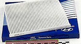 Filtro abitacolo Hyundai Solaris