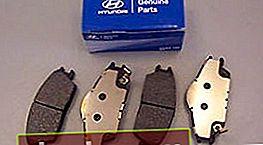 Pastiglie per Hyundai Accent 2 TagAZ