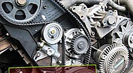 Sostituzione della cinghia di distribuzione sul motore 1G-FE