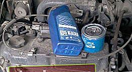 Mitsubishi Lancer olie vervangen en oliefilter vervangen