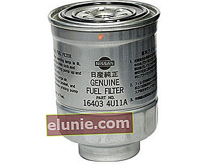 Filtro carburante 164034U105