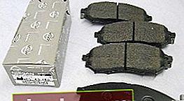Pastillas de freno para Nissan Almera