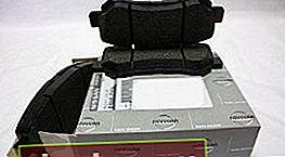 Pastillas de freno para Nissan X Trail