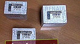 Filtro olio Renault Duster